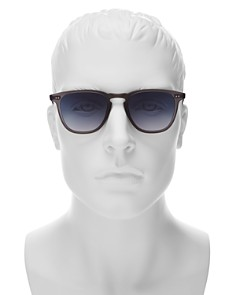 GARRETT LEIGHT - Men's Brooks Mirrored Square Sunglasses, 47mm - 100% Exclusive